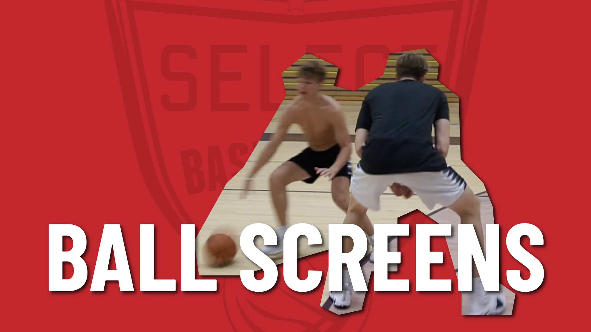 In this drill, we work on the different options a ball-handler has when coming off a high ball screen.