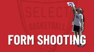 form shooting basketball drill